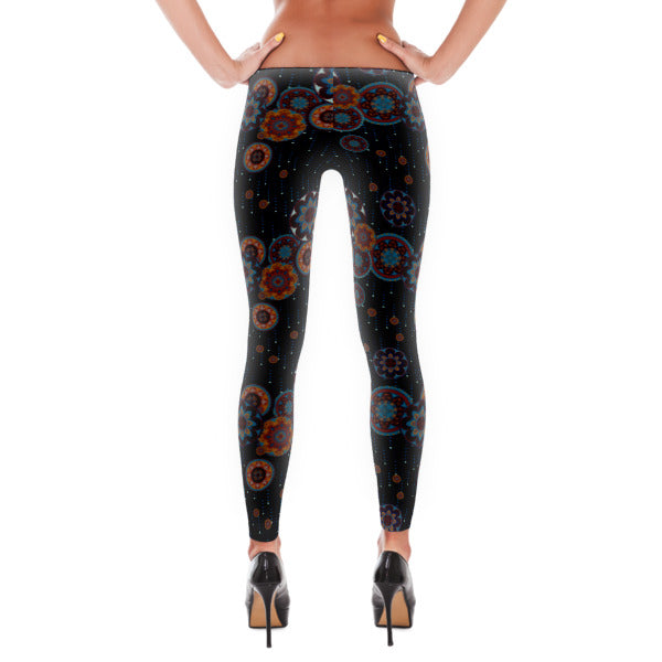 Raining Mandalas Leggings