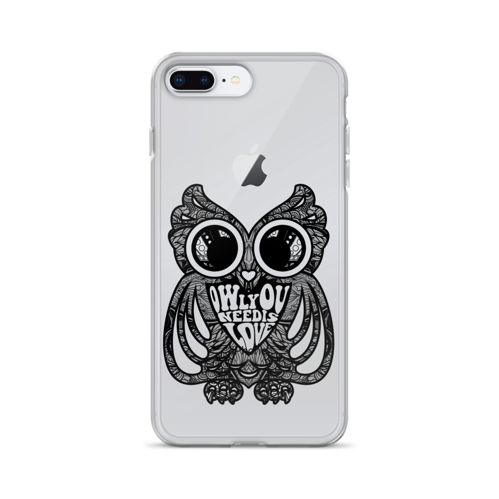 Owl You Need Is Love iPhone Case