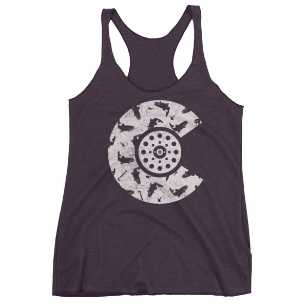CO Fish Racerback tank top