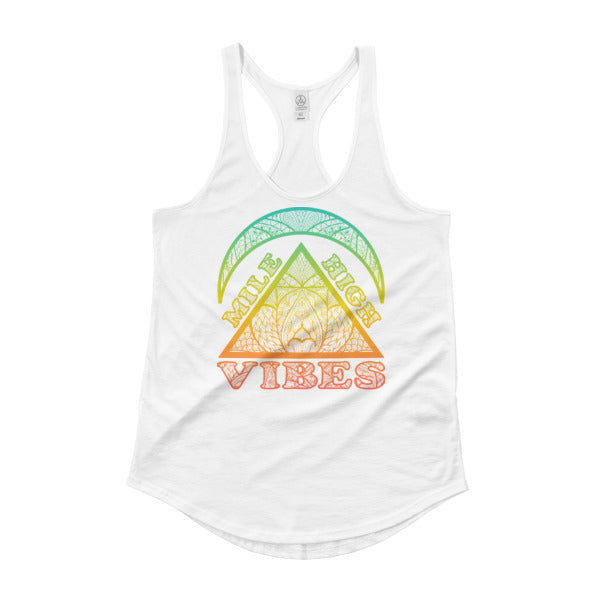 Mile High Vibes Shirttail Tank