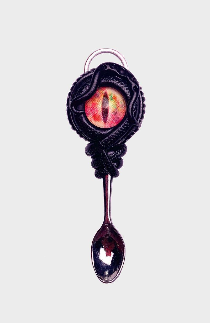 Candy Dragon Creature Spoon Pendant