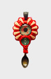 Dragon Alien Eye Creature Spoon Pendant