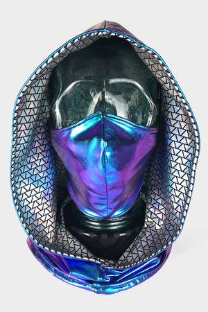Holographic Ninja Mask and Hood