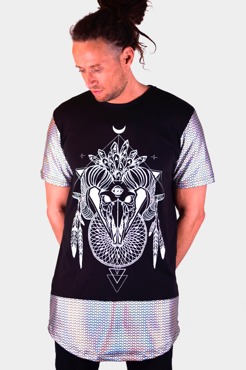 Holographic Voodoo Child Tall Tee