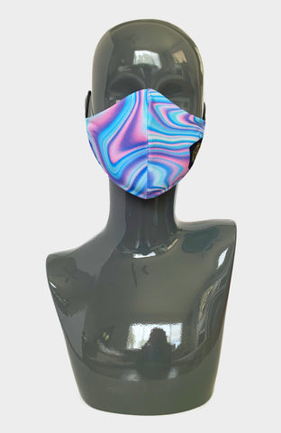 Cosmic Flow Ninja Mask