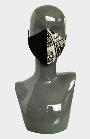 Digital Rain Ninja Mask - Reflective