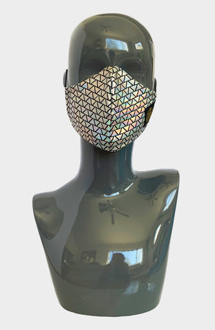 Hex Exotica Sequin Hooded Halter Top