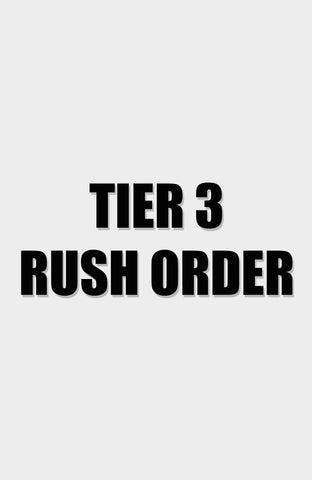 Rush Order - 4 Weeks Off