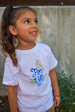 Load image into Gallery viewer, Camiseta Florecita para Niños
