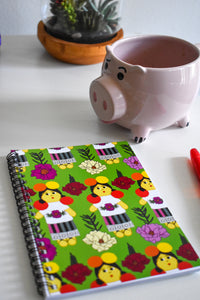 Muñeca Spiral Notebook 5x7