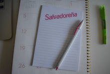 Load image into Gallery viewer, Salvadoreña Notepad