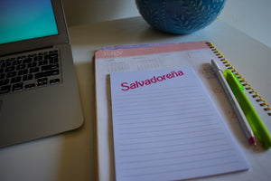Salvadoreña Notepad