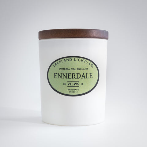 Our ENNERDALE VIEWS luxury scented soy candle