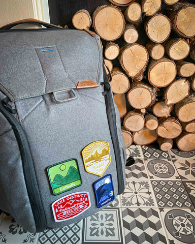 Conquer Lake District Adventure Patches