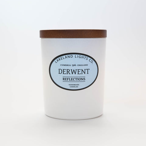 Our DERWENT REFLECTIONS luxury scented soy candle