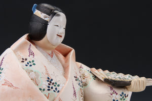Noh Clay Doll