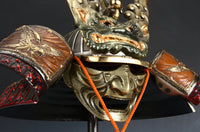 Samurai Helmet with Mask