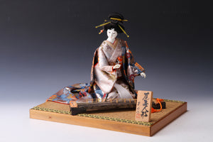 Japanese Geisha Doll Bronze Museum Japan