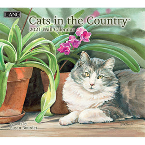 Cats in the Country Calendrier 2021 La Maison du Bleuet