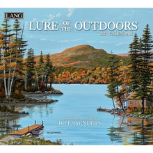 Charger l'image dans la galerie, Lure of the outdoors Calendrier 2021 La Maison du Bleuet