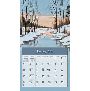 Lure of the outdoors Calendrier 2021 La Maison du Bleuet