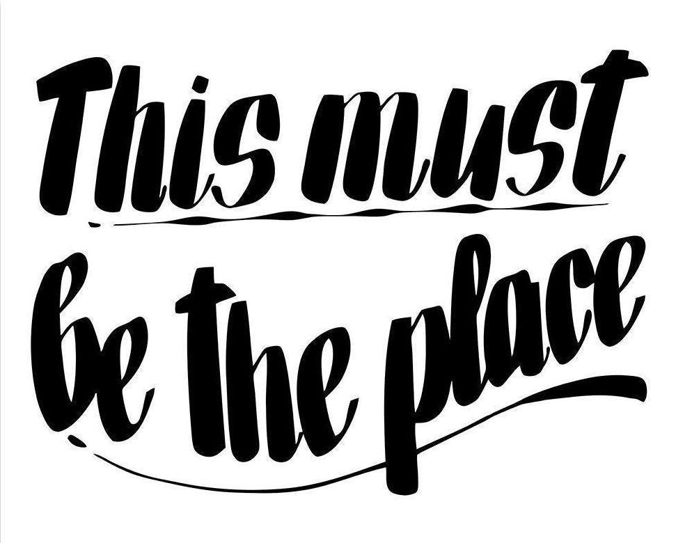 THIS MUST BE THE PLACE by Baron Von Fancy | Open Edition and Limited Edition Prints