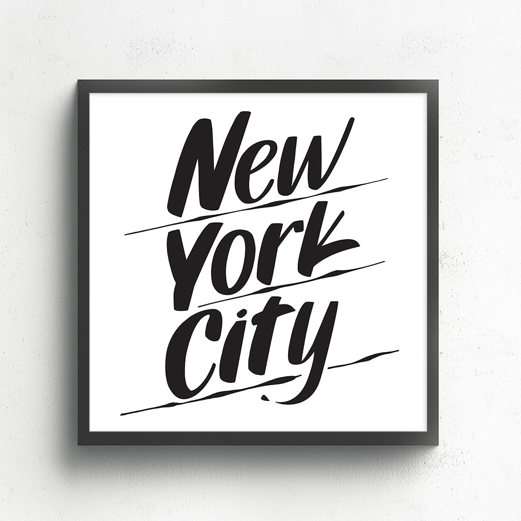 NEW YORK CITY by Baron Von Fancy | Open Edition and Limited Edition Prints