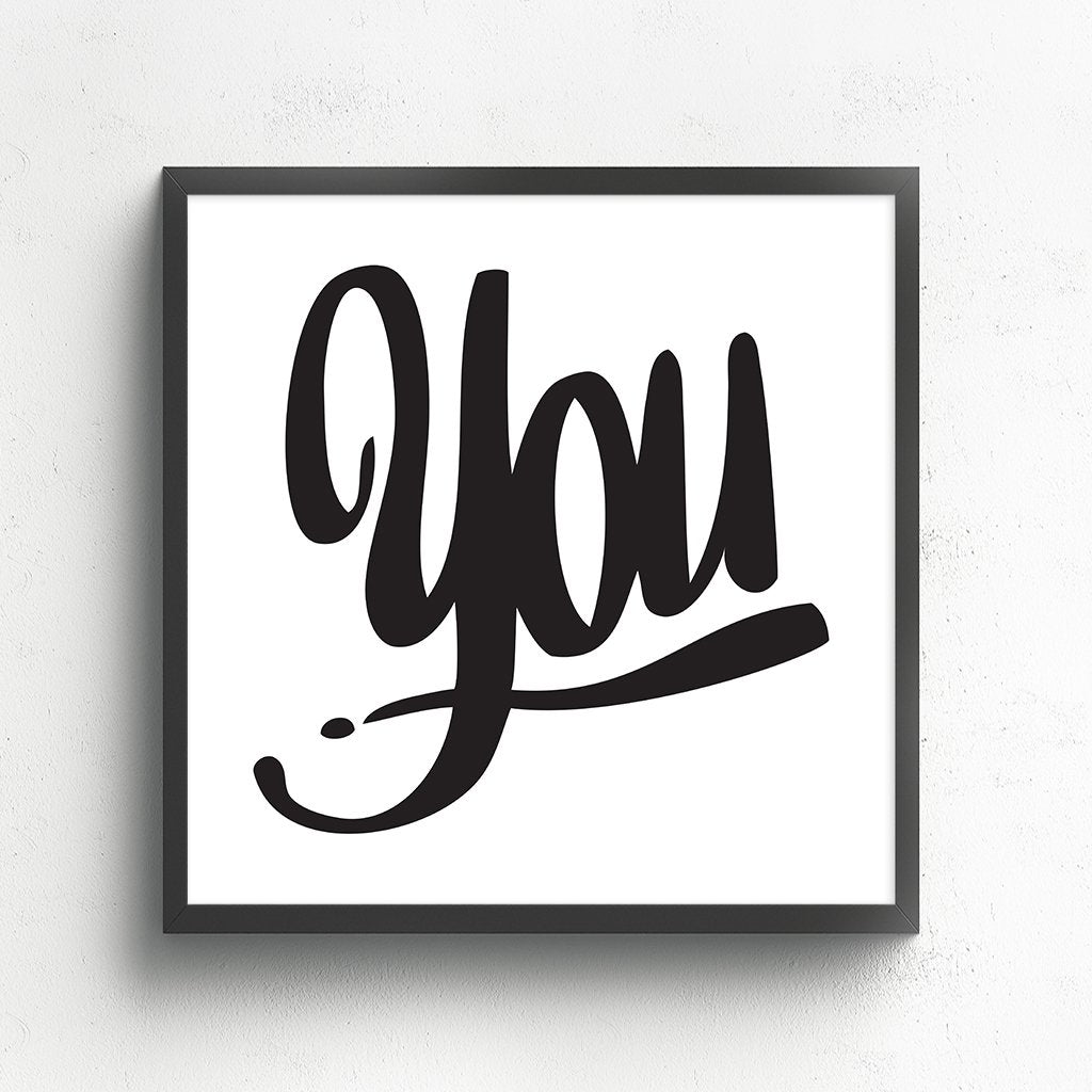 YOU by Baron Von Fancy | Open Edition and Limited Edition Prints