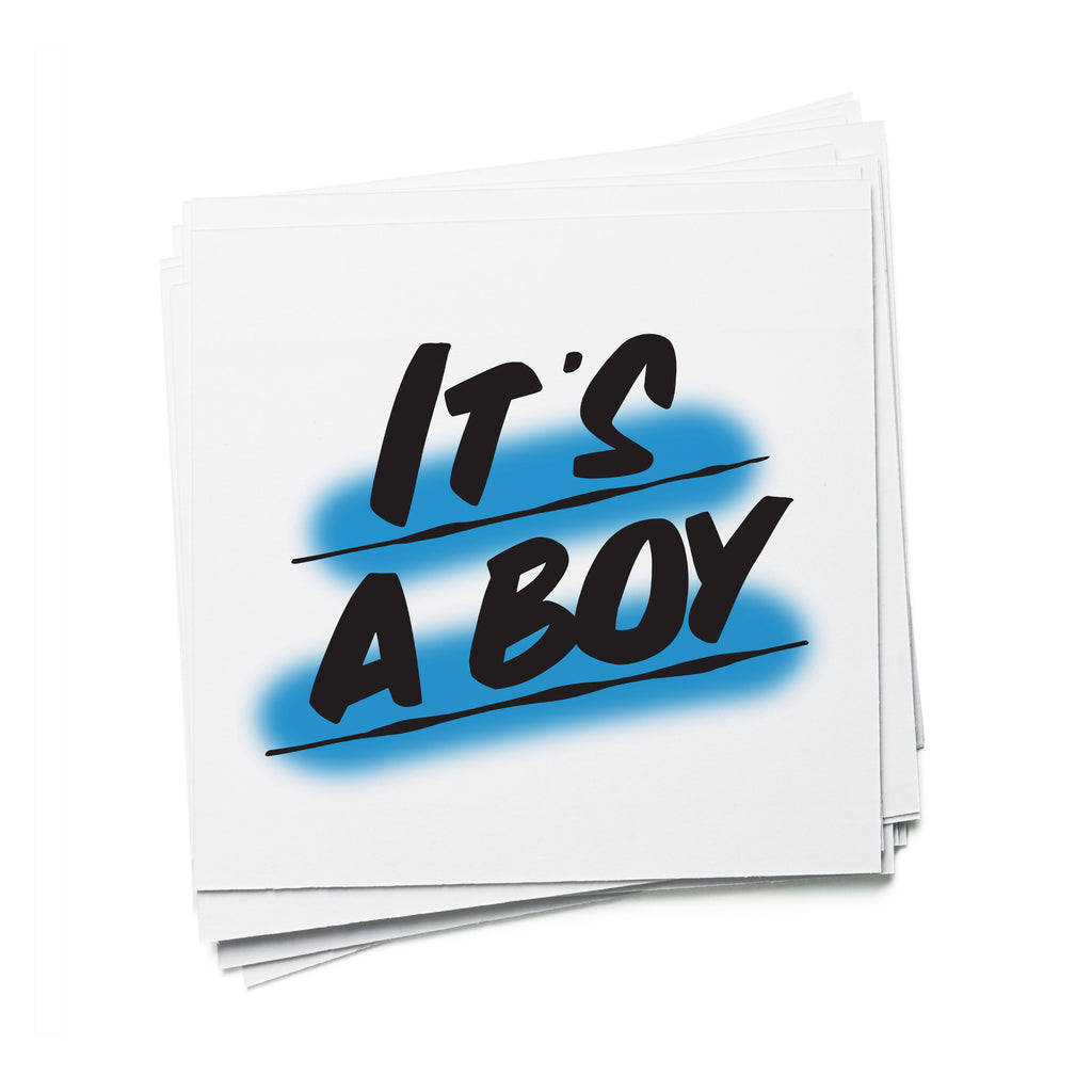 IT'S A BOY by Baron Von Fancy | Open Edition and Limited Edition Prints