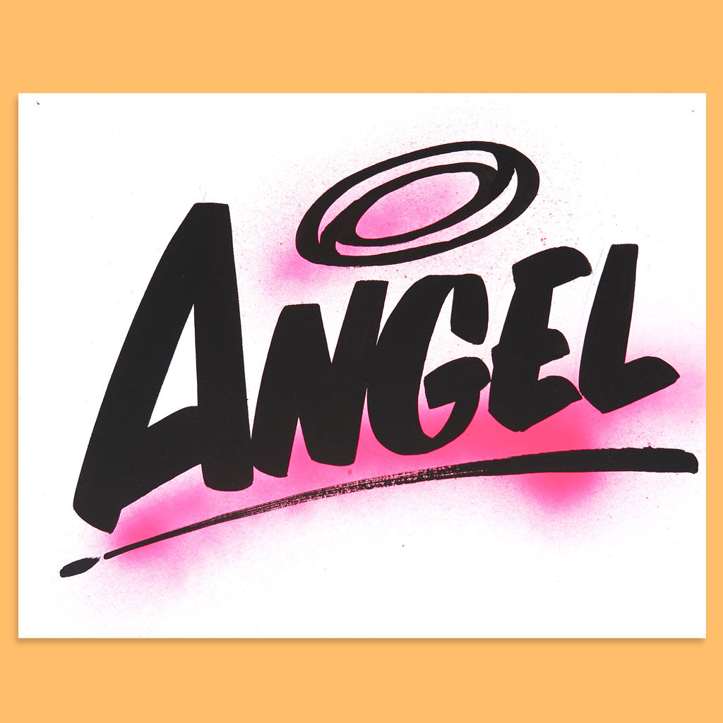 Angel by Baron Von Fancy | Open Edition and Limited Edition Prints