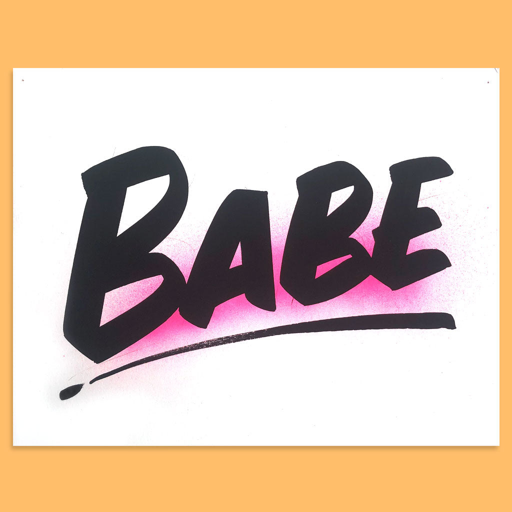 Babe by Baron Von Fancy | Open Edition and Limited Edition Prints