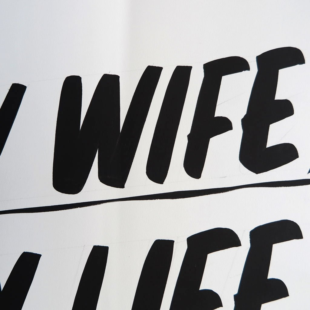 Happy Wife, Happy Life by Baron Von Fancy | Open Edition and Limited Edition Prints