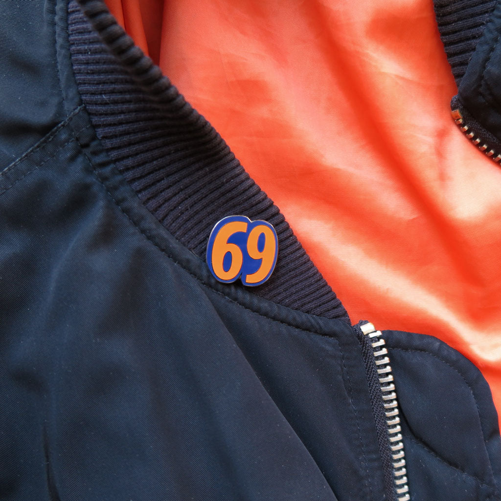 "Couple of Mets ""69"" Pin by Baron Von Fancy 
