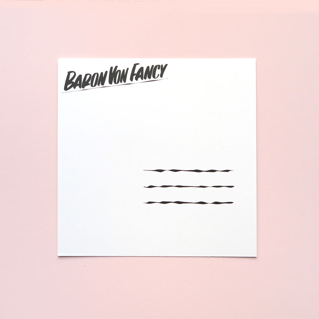Postcard Pack - Square by Baron Von Fancy | Open Edition and Limited Edition Prints