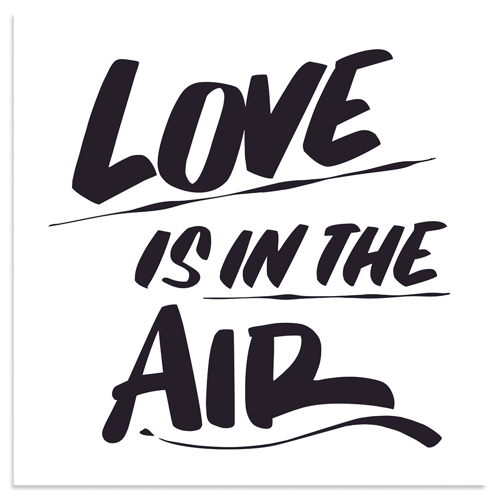 LOVE IS IN THE AIR by Baron Von Fancy | Open Edition and Limited Edition Prints
