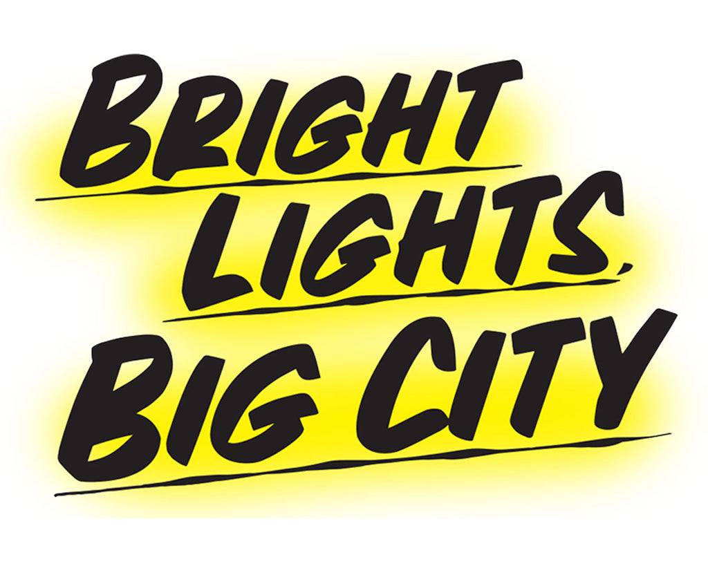 BRIGHT LIGHTS BIG CITY YELLOW by Baron Von Fancy | Open Edition and Limited Edition Prints