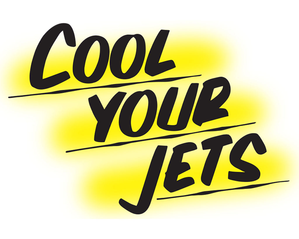 COOL YOUR JETS by Baron Von Fancy | Open Edition and Limited Edition Prints
