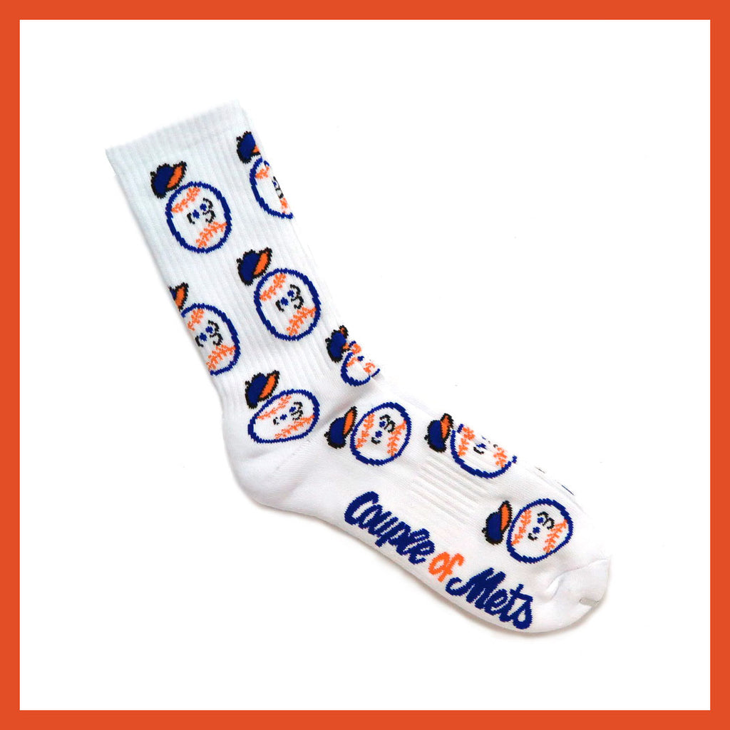 Couple of Mets Socks by Baron Von Fancy | Open Edition and Limited Edition Prints