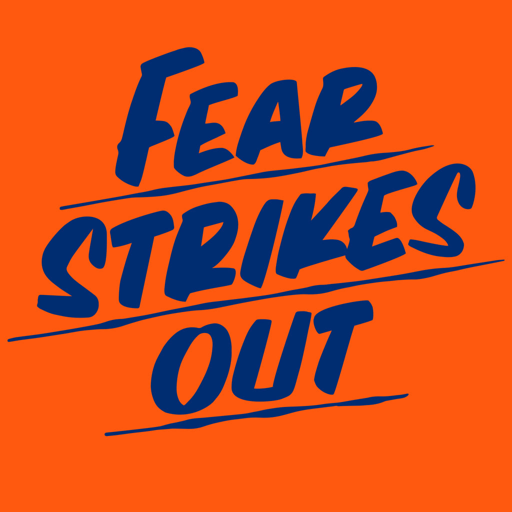 FEAR STRIKES OUT by Baron Von Fancy | Open Edition and Limited Edition Prints