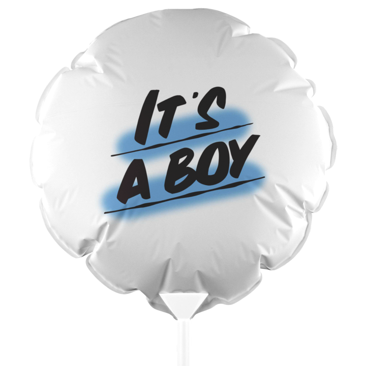 IT'S A BOY BALLOON by Baron Von Fancy | Open Edition and Limited Edition Prints