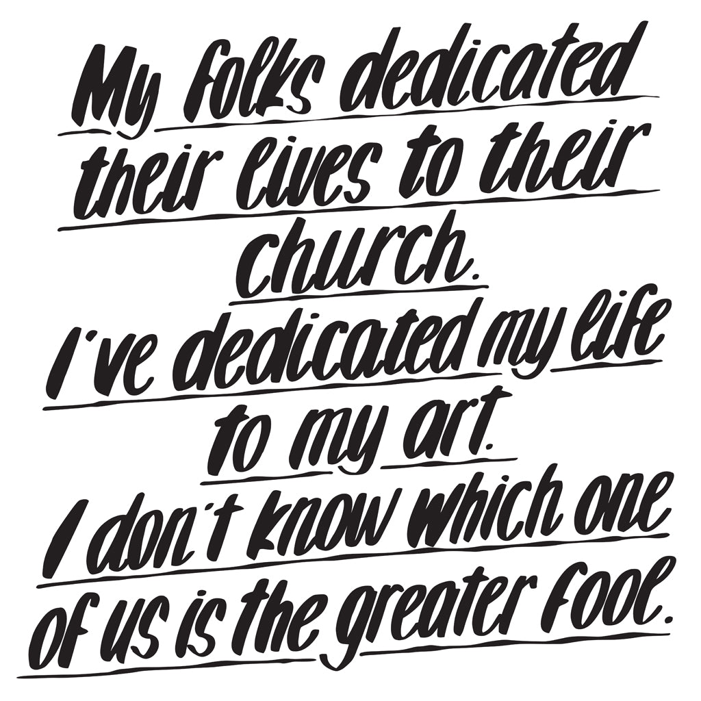 MY FOLKS DEDICATED THEIR LIVES TO THEIR CHURCH by Baron Von Fancy | Open Edition and Limited Edition Prints