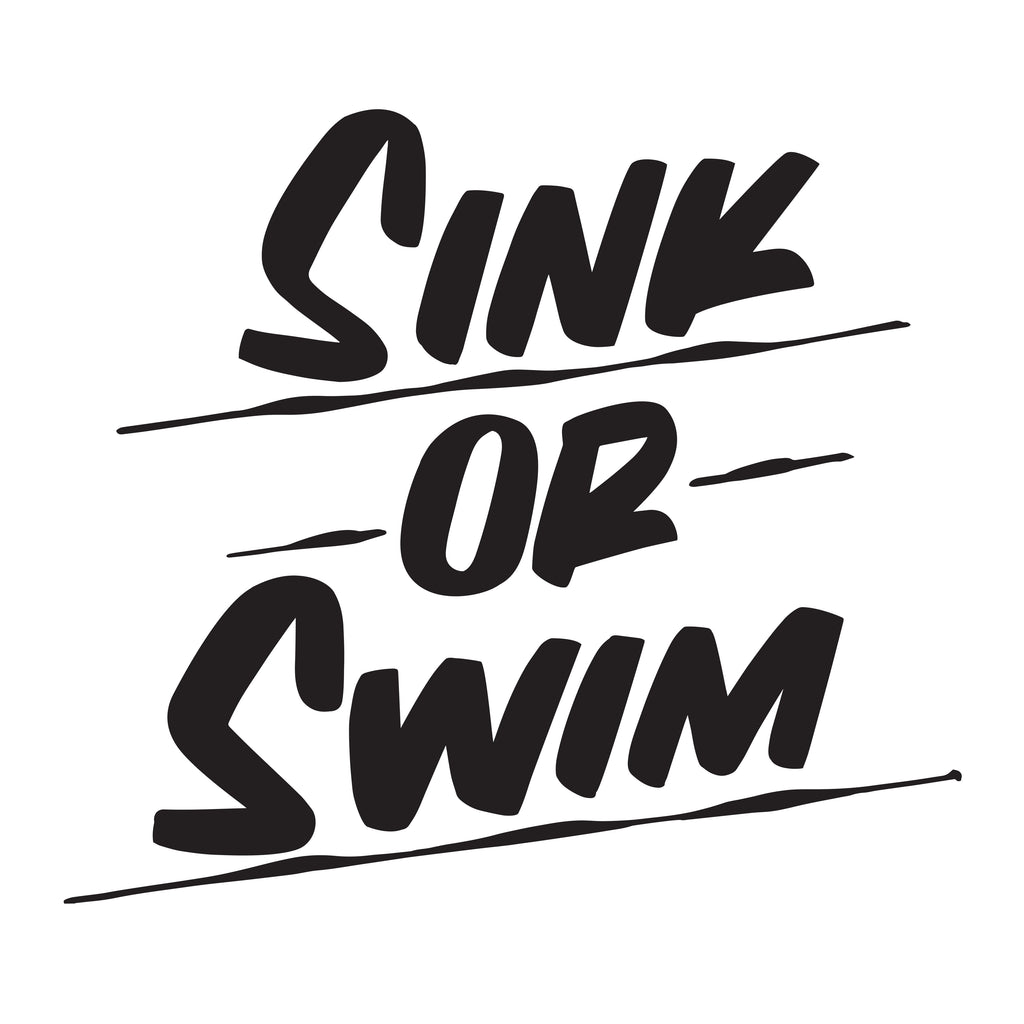 SINK OR SWIM by Baron Von Fancy | Open Edition and Limited Edition Prints