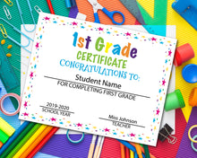 Load image into Gallery viewer, First Grade Diploma Certificate - 1st Grade