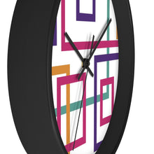 Load image into Gallery viewer, Colorful Squares Wall Clock