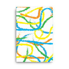 Load image into Gallery viewer, Brush Strokes Canvas Print - Orange, Blue, Green, Yellow