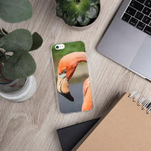 Load image into Gallery viewer, Flamingo iPhone Case