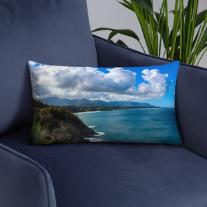 Hawaii Landscape - Throw Pillow