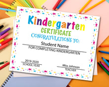 Load image into Gallery viewer, Kindergarten Diploma Certificate