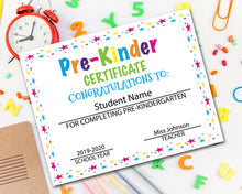 Load image into Gallery viewer, Pre K Diploma Certificate
