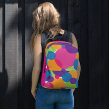Load image into Gallery viewer, Rainbow Circles Backpack